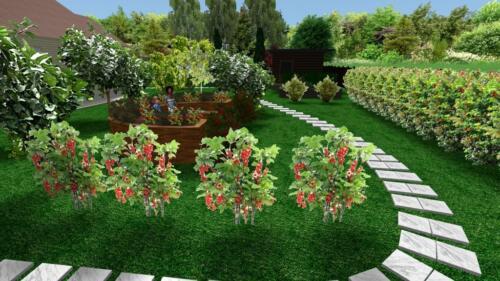 Плодовый сад в RealTime LandscapeDesign