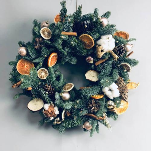 Рождественский венок-02