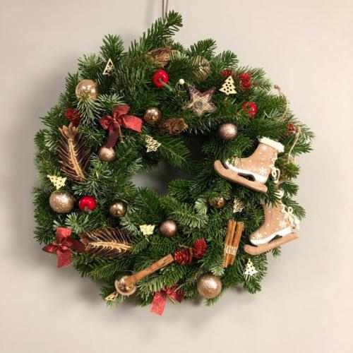 Рождественский венок-08